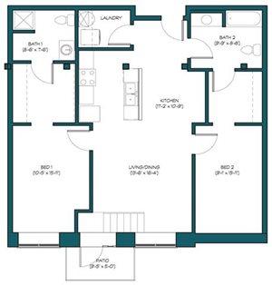 2 Bedroom A.6