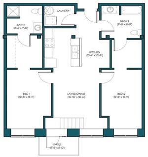 2 Bedroom A.7