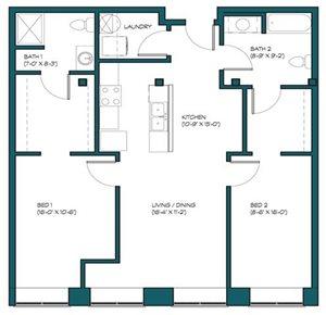 2 Bedroom A.8