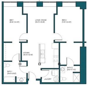 2 Bedroom A.9
