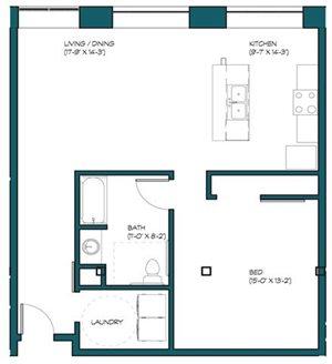 1 Bedroom B.2
