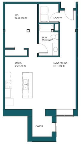 1 Bedroom B.4