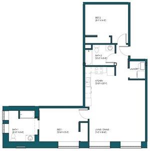 2 Bedroom C.1