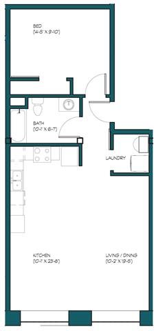 1 Bedroom C.3