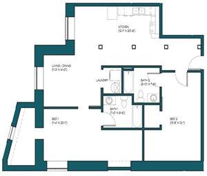 2 Bedroom G.1