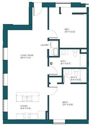 2 Bedroom H.1