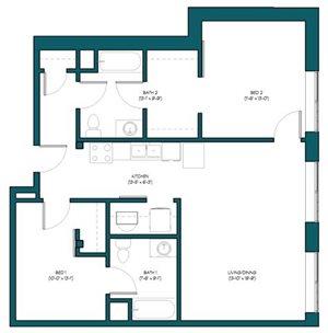 2 Bedroom I.3