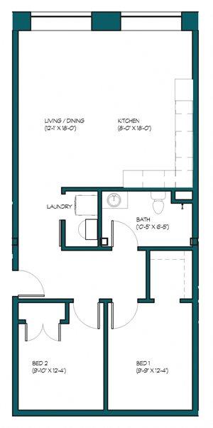 2 Bedroom C.2