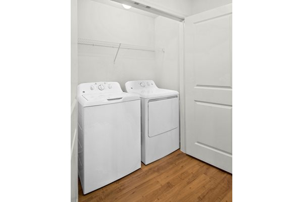 Suites at Crystal Riviyera come include ensuite washers and dryers.