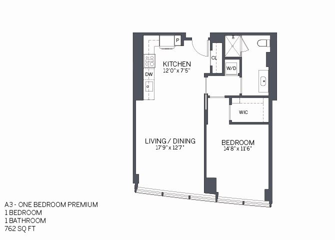 One Bedroom Premium with furniture
