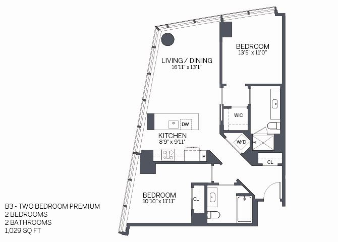 Two Bedroom Premium with furniture