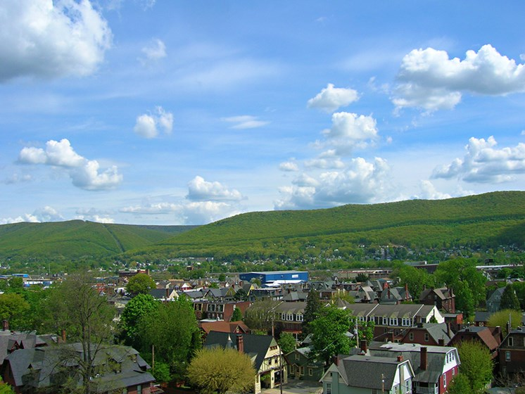 Apartment View  in Williamsport, PA | The Weightman Apartments | Property Management, Inc.