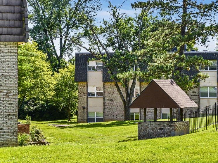 Greenbelt views at Carriage Hill Apartment Homes, Ohio, 45013