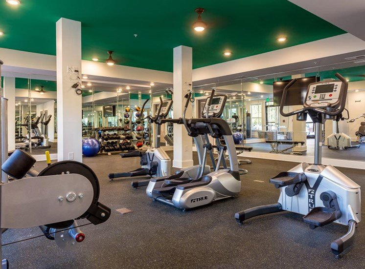 Fitness Center at Creekside at Greenlawn Apartments, Downtown Columbia SC 29209
