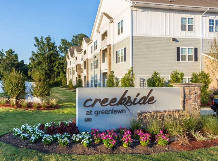 Grand Entrance at Creekside at Greenlawn in Columbia SC 29209