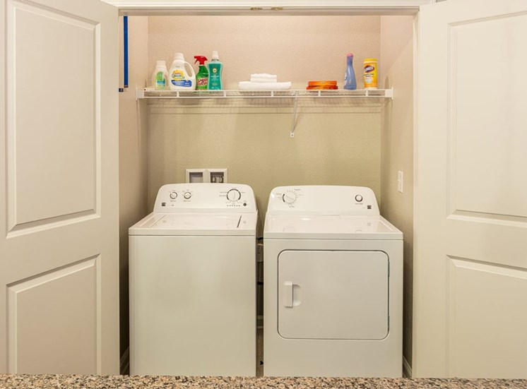 In-Unit Washer and Dryer at Creekside at Greenlawn Apartments, Columbia SC 29209