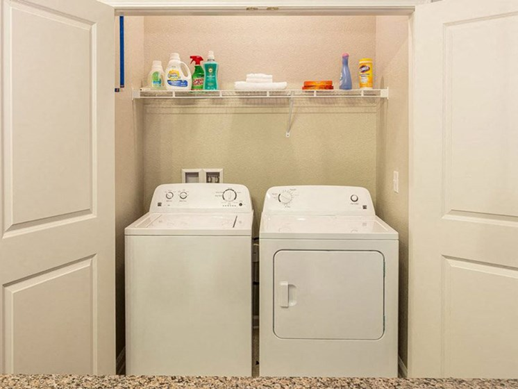 Washer and Dryer In-Unit at Creekside at Greenlawn Apartments in Columbia, SC