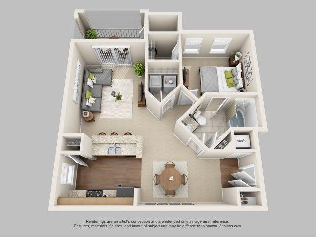 A2 - The Cessna Floor Plan 2
