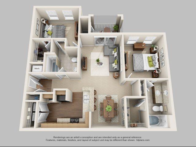 B1 - The Osprey Floor Plan 3