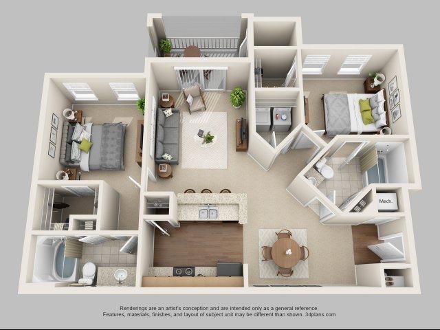 B2- The Lear Floor Plan 4