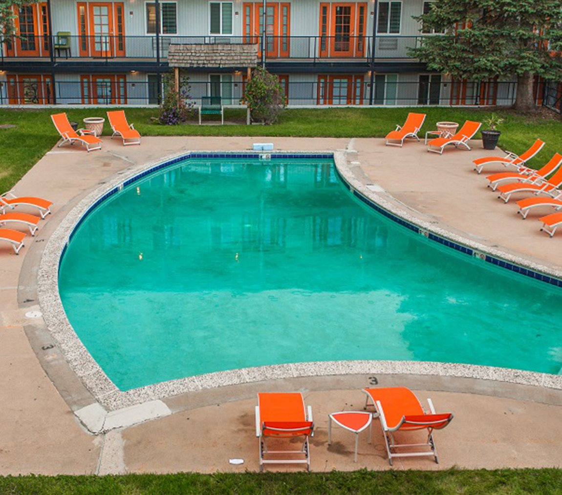 Aerial View Of Pool at -The Lodge-, Colorado