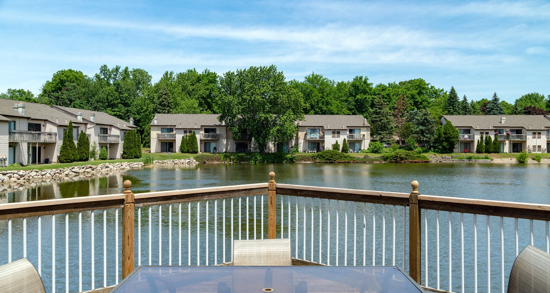 Gorgeous Views at Old Farm Shores Apartments in Southeast Grand Rapids MI