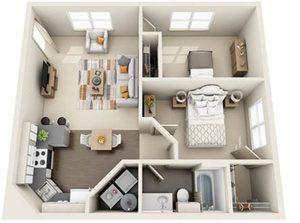 Two Bedroom B1