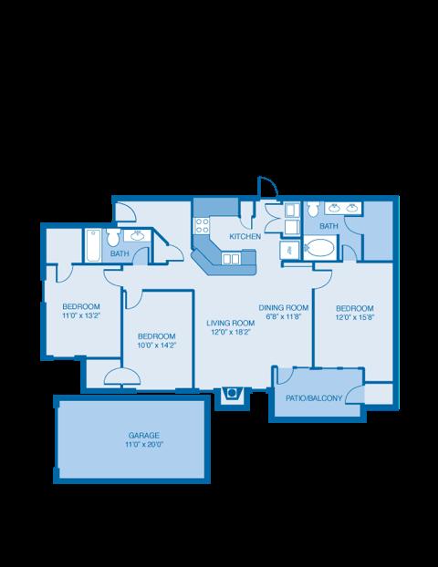 Commander Floor Plan 9