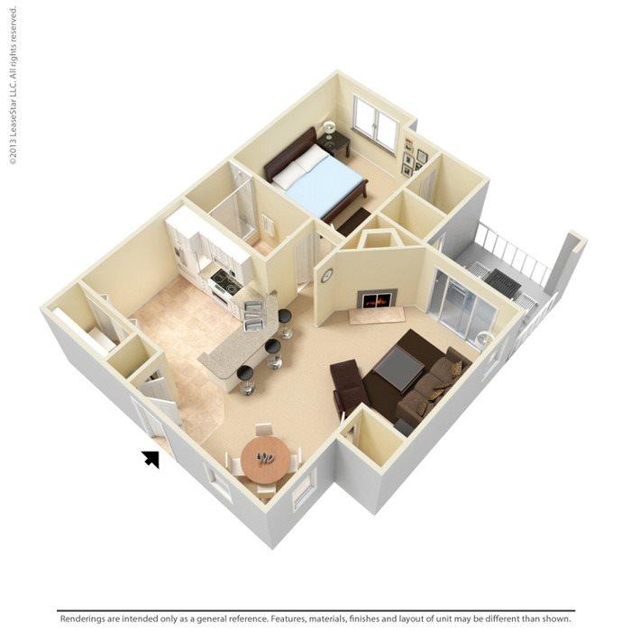 Birch Floor Plan 1