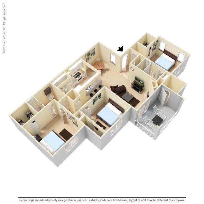 Chestnut Floor Plan 3