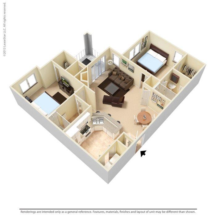 Willow Oak Floor Plan 2