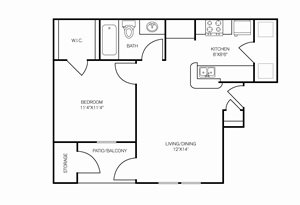 edgewater apartments floor plan