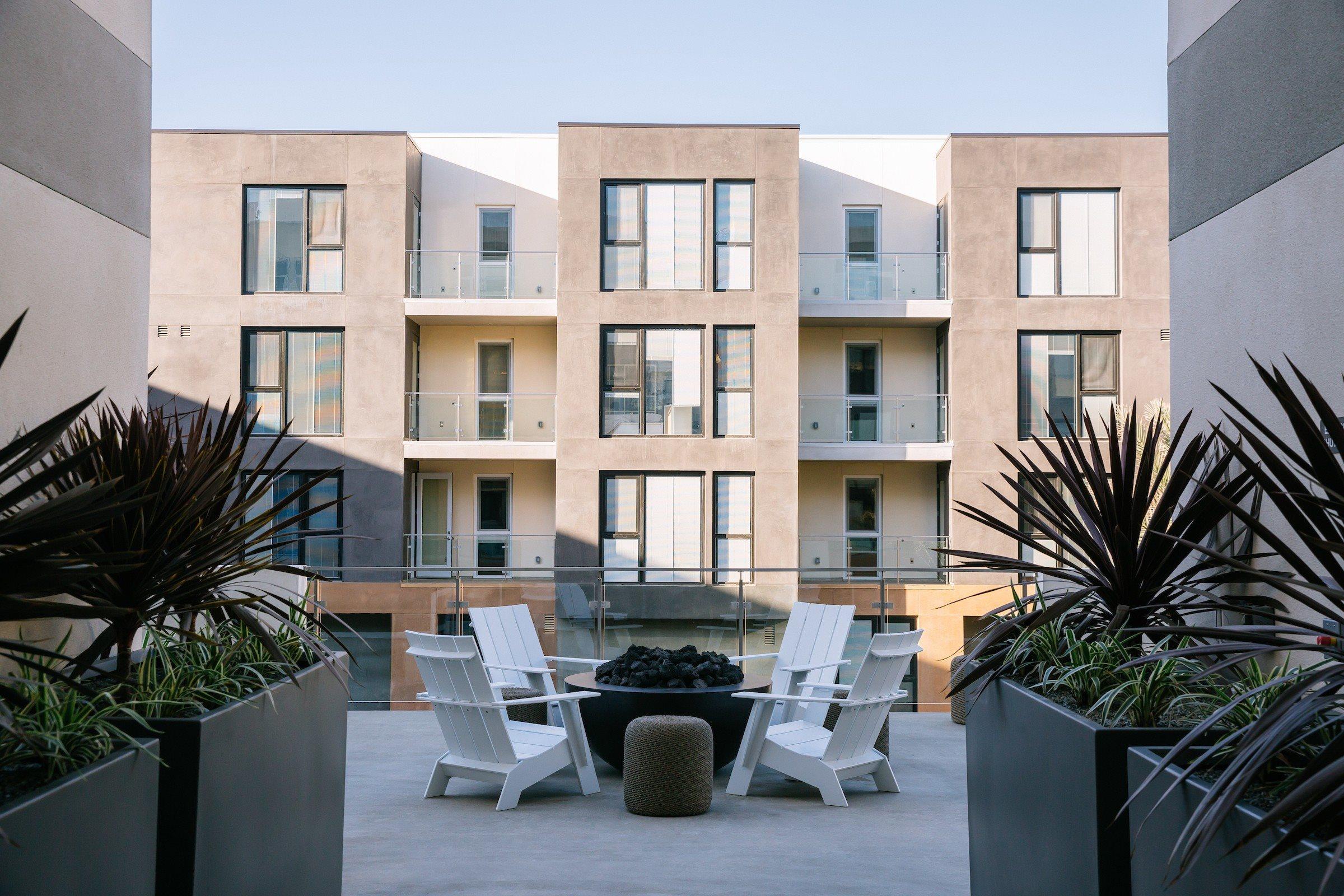 Block C Apartment And Community Amenities