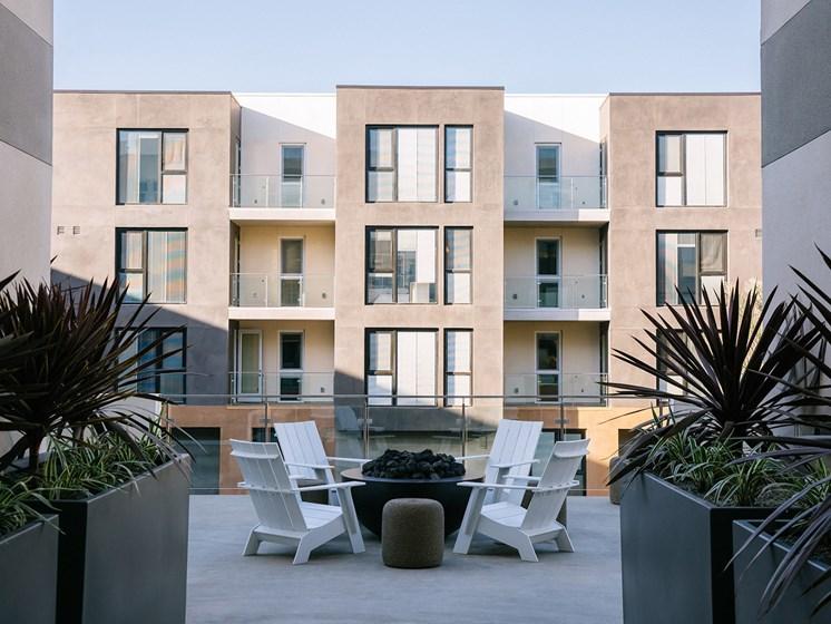 Enclosed Courtyard at Block C, San Marcos, CA, 92078