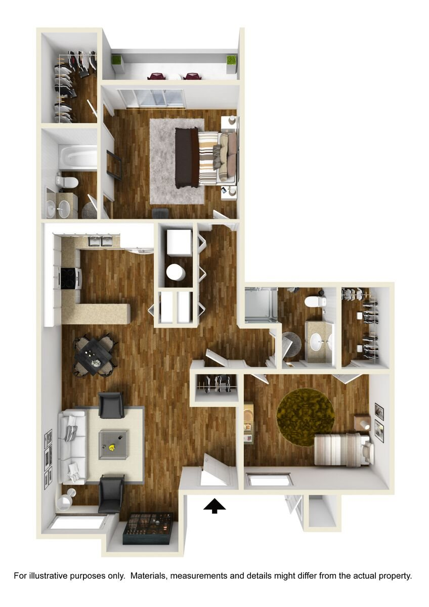Live Oak Floor Plan 4