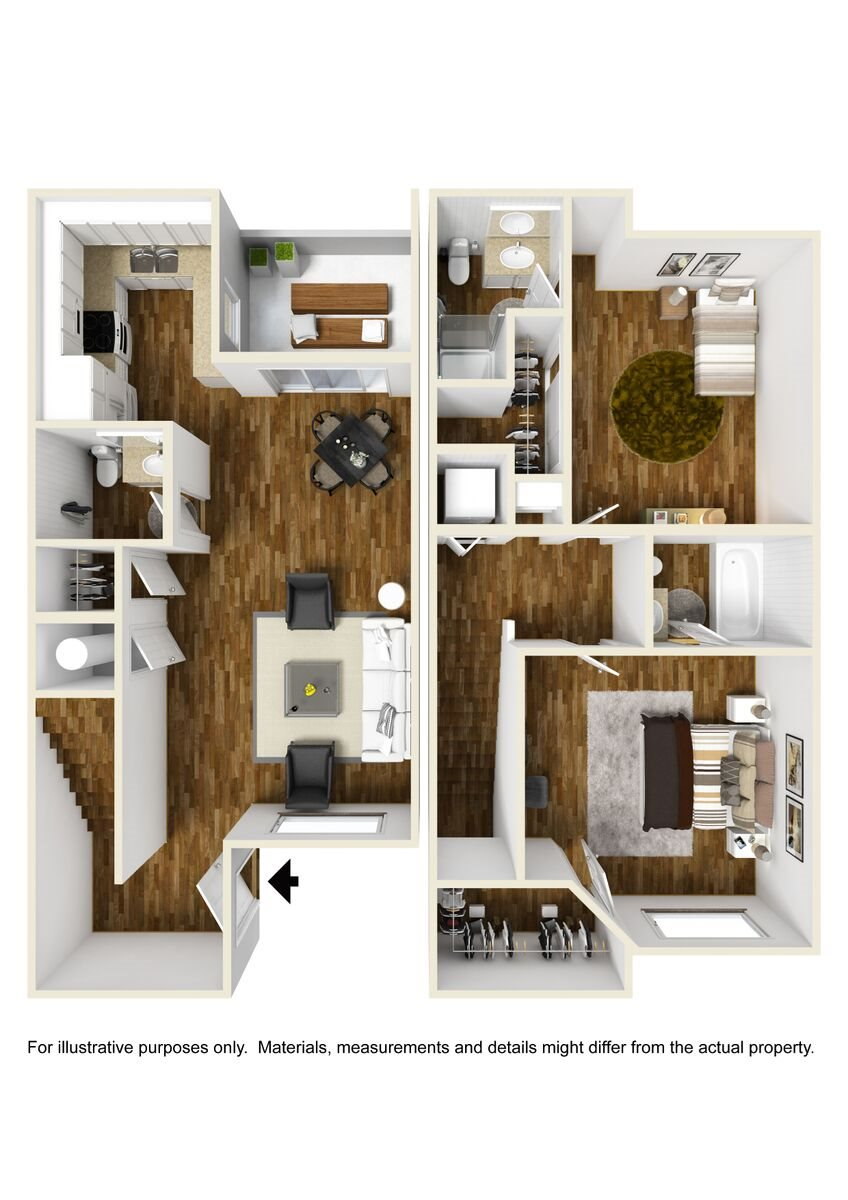 Townhome Floor Plan 8