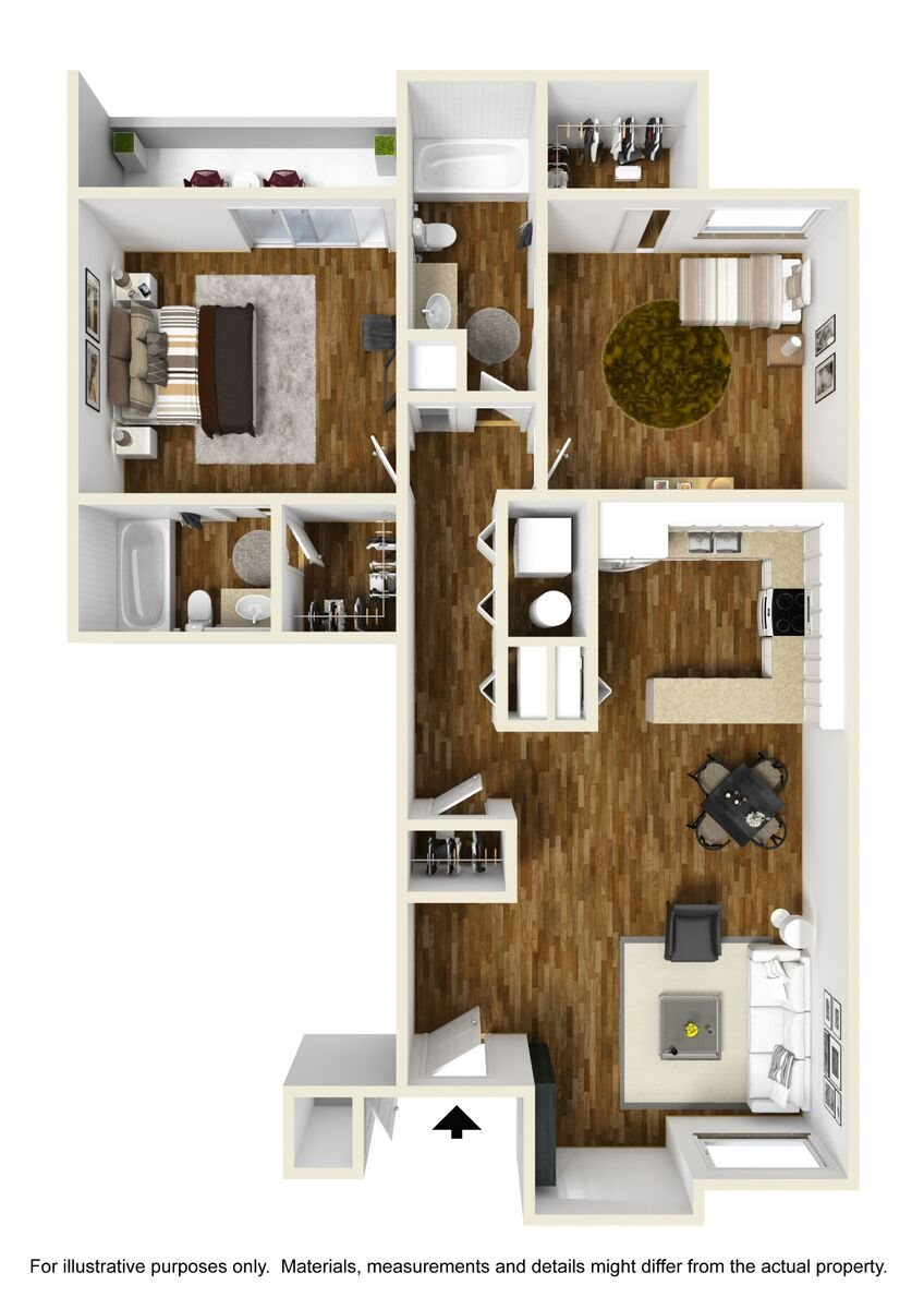 Mesquite Casita Floor Plan 7