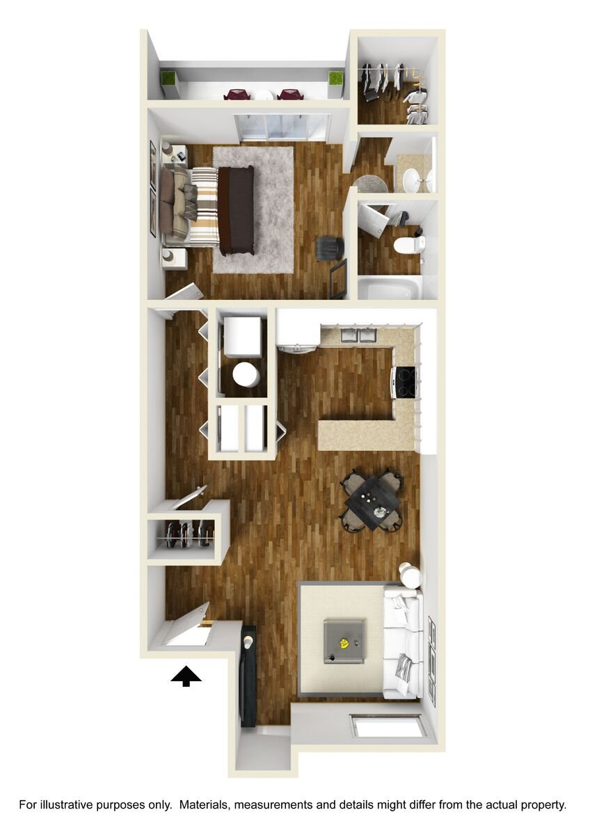 Palo Verde Casita Floor Plan 3