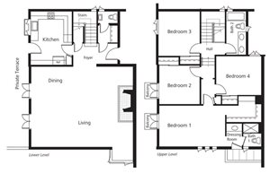 Townhomes - Four Bedroom