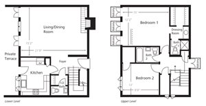 Townhomes - Two Bedroom C