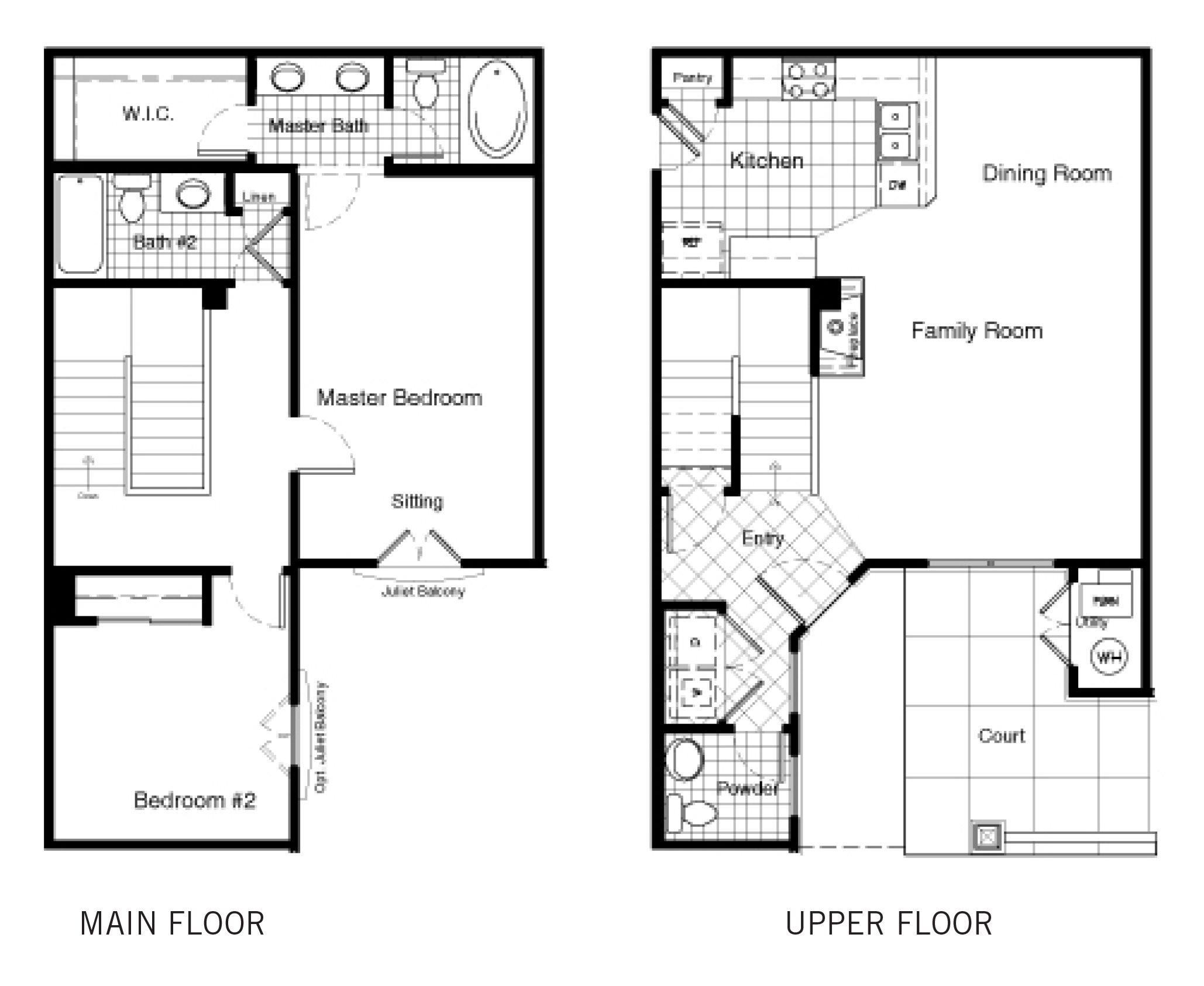 2D Floor Plan 8