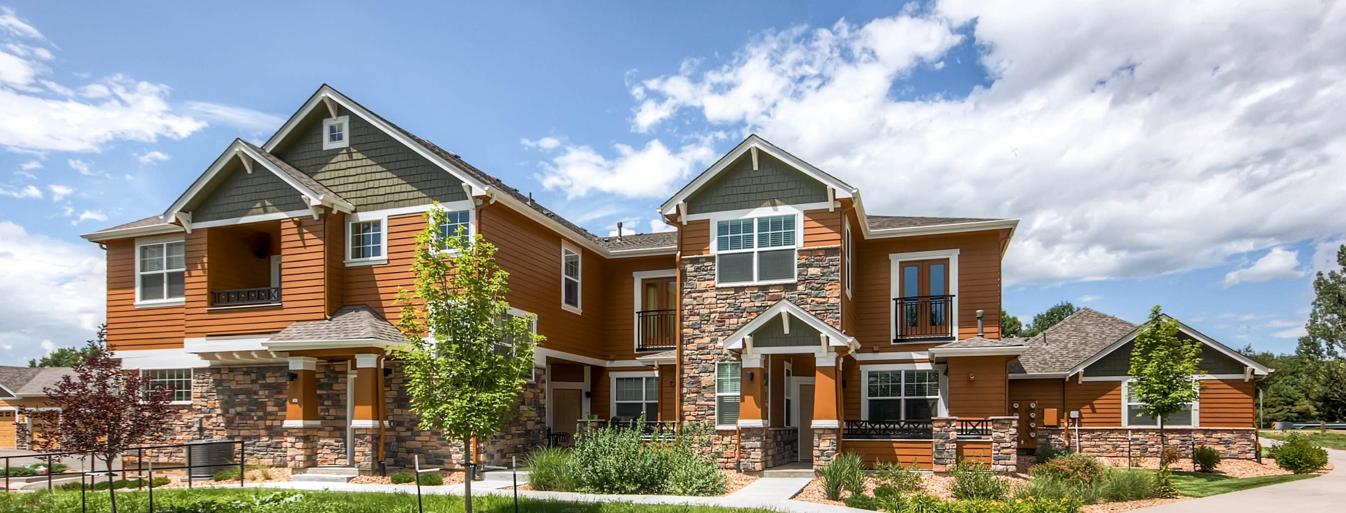 Exterior at Maple Leaf Apartments in Arvada, CO