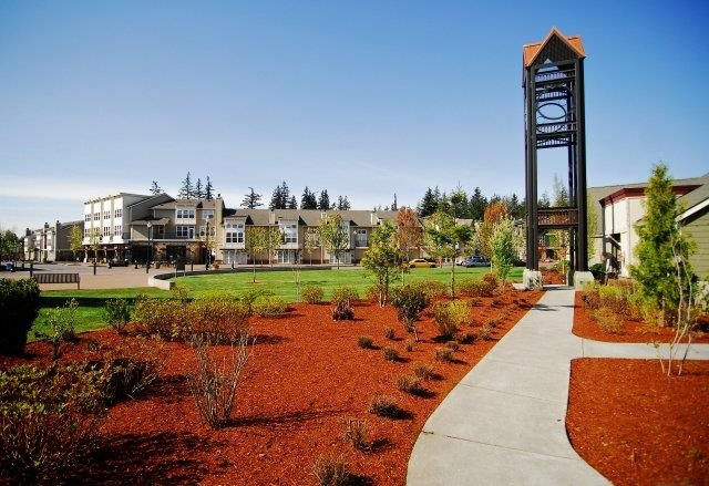 Beautiful Landscaping  at Bella Terra Apartments, Mukilteo, WA,98275
