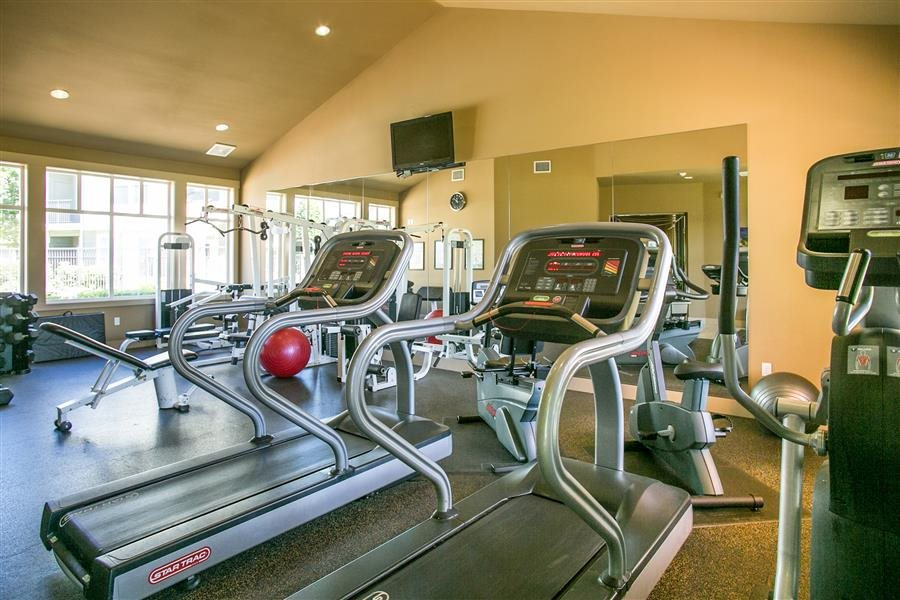 Fitness Center at Bella Terra Apartments, Mukilteo, WA,98275