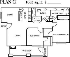 Plan C Floorplan at Deerwood