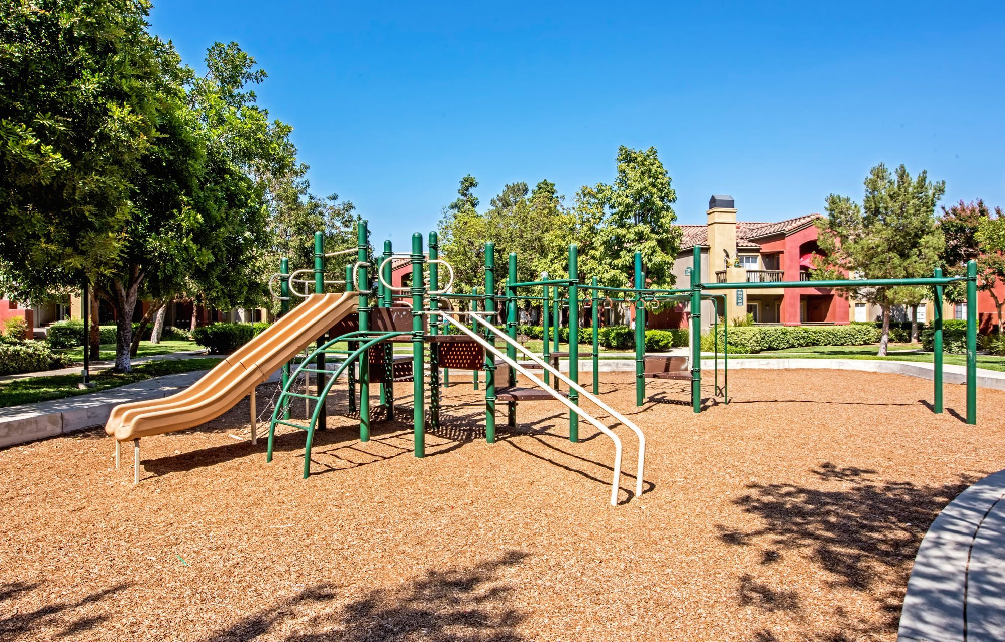 Playground at Deerwood Apartments in Corona California