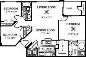 Fern Floorplan at Gatehouse at Pinelake