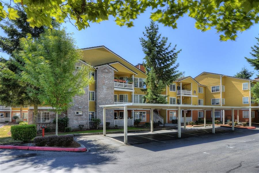 Parking Facility at Heronfield Apartments, Kirkland, WA,98034