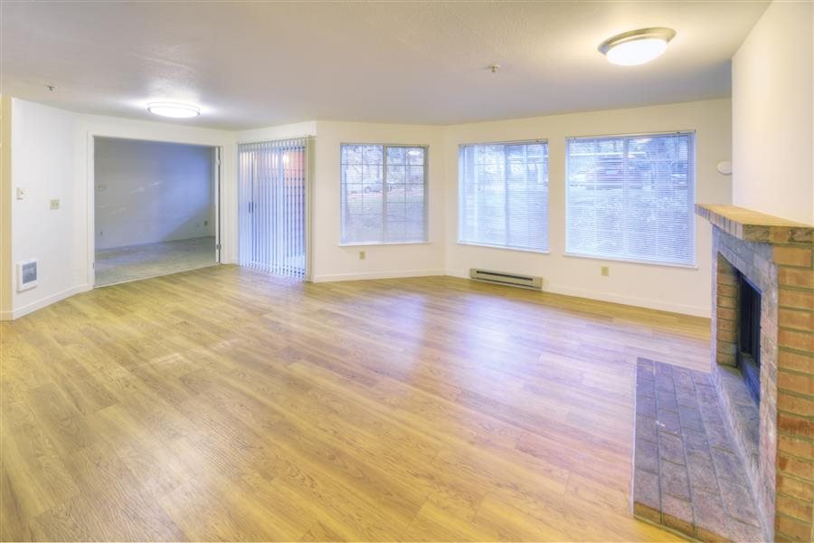 Wood-Style Plank Flooring at Heronfield Apartments, Kirkland, WA,98034