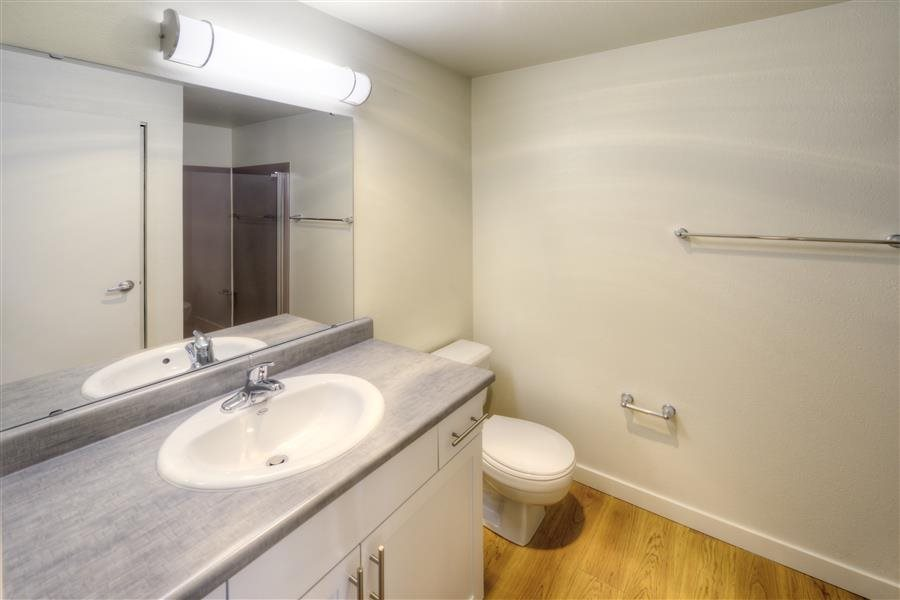 Spacious Bathrooms at Heronfield Apartments, Kirkland, WA,98034